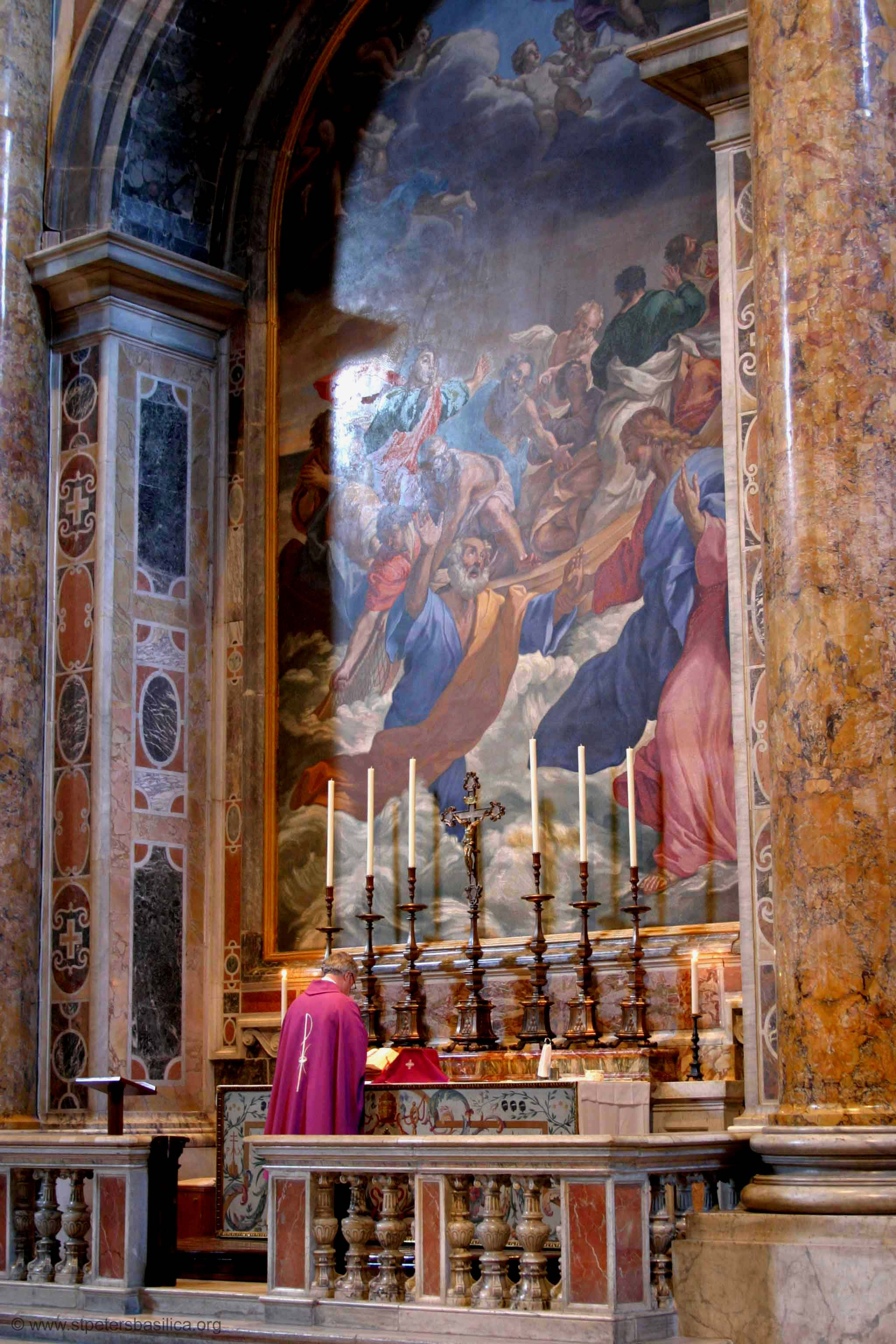St Peter S Altar Of The Navicella