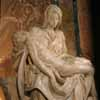 Pieta by Michelangelo - from the Left Side