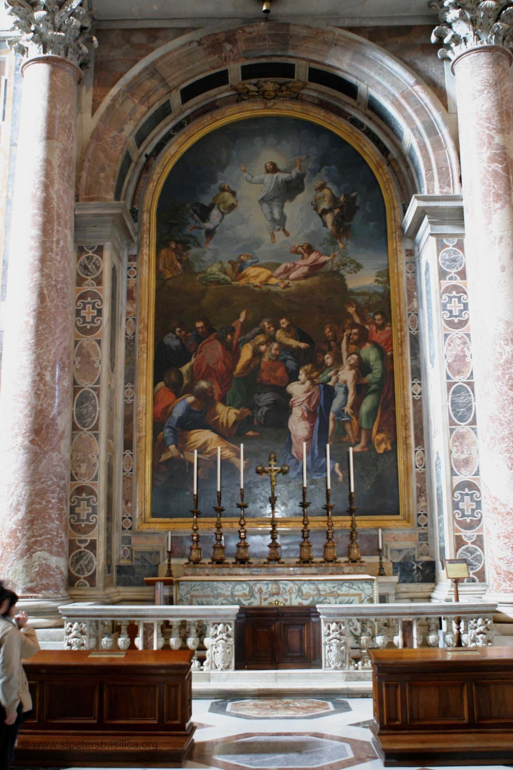 St Peters Altar Of Transfiguration