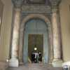 Bronze Door to Apostolic Palace with Swiss Guard