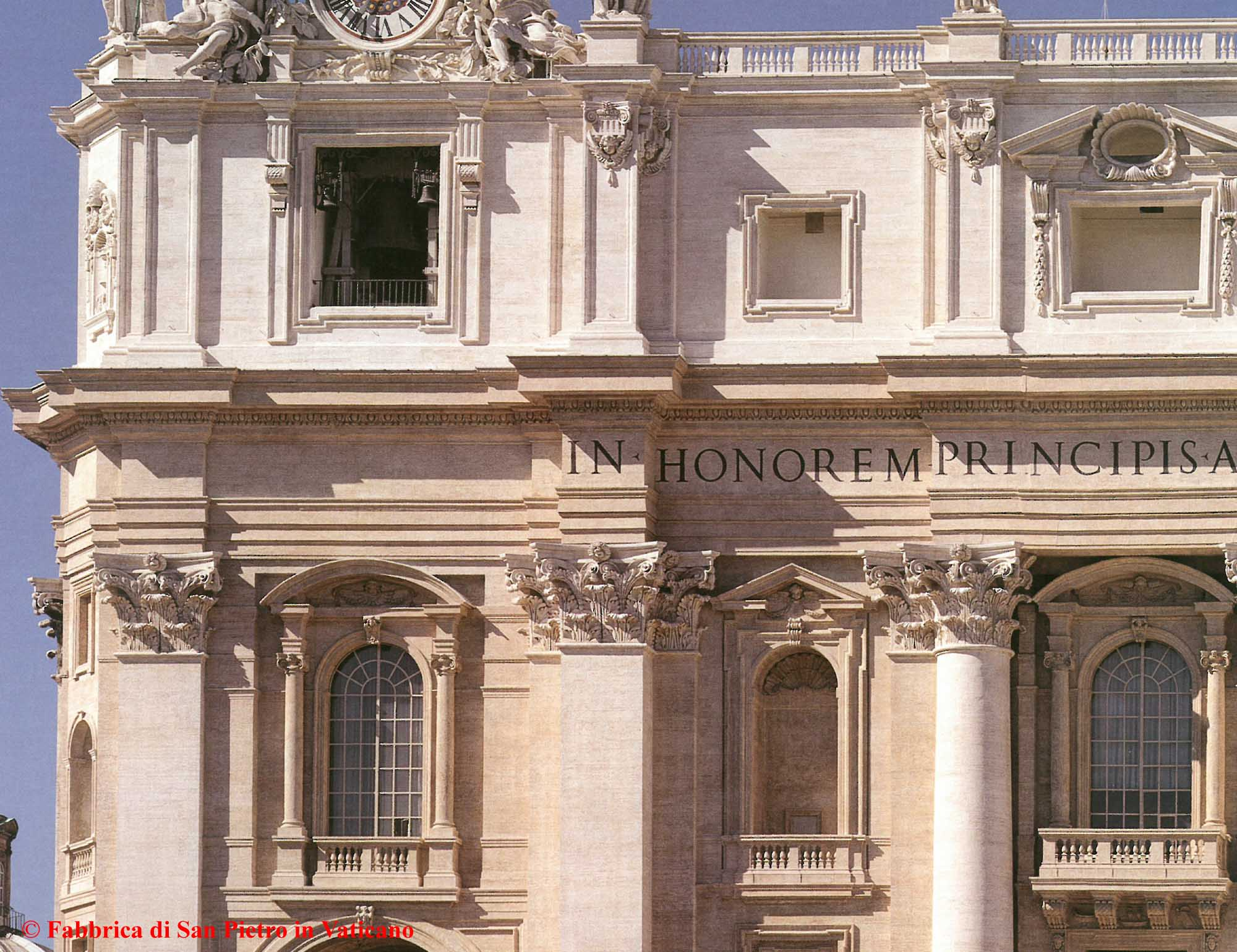 Facade of St Peter's Basilica