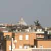 St Peter's Dome from Via Aurelia