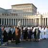 Queue for Mass for Consecrated Life, Feb '07