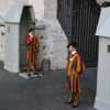 Swiss Guards - Left of St Peter's