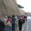 Line Waiting to Enter Vatican Museums