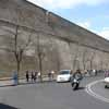 Vatican Wall toward Museums