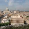 Vatican & Borgo from Castle Sant Angelo