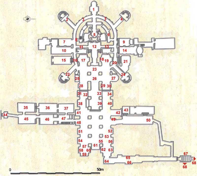 Vatican Grottoes  Floorplan