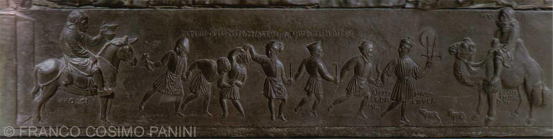Filarete and Assistants - Lower Right Inside of Door & St. Peteru0027s - The Filarete Door pezcame.com