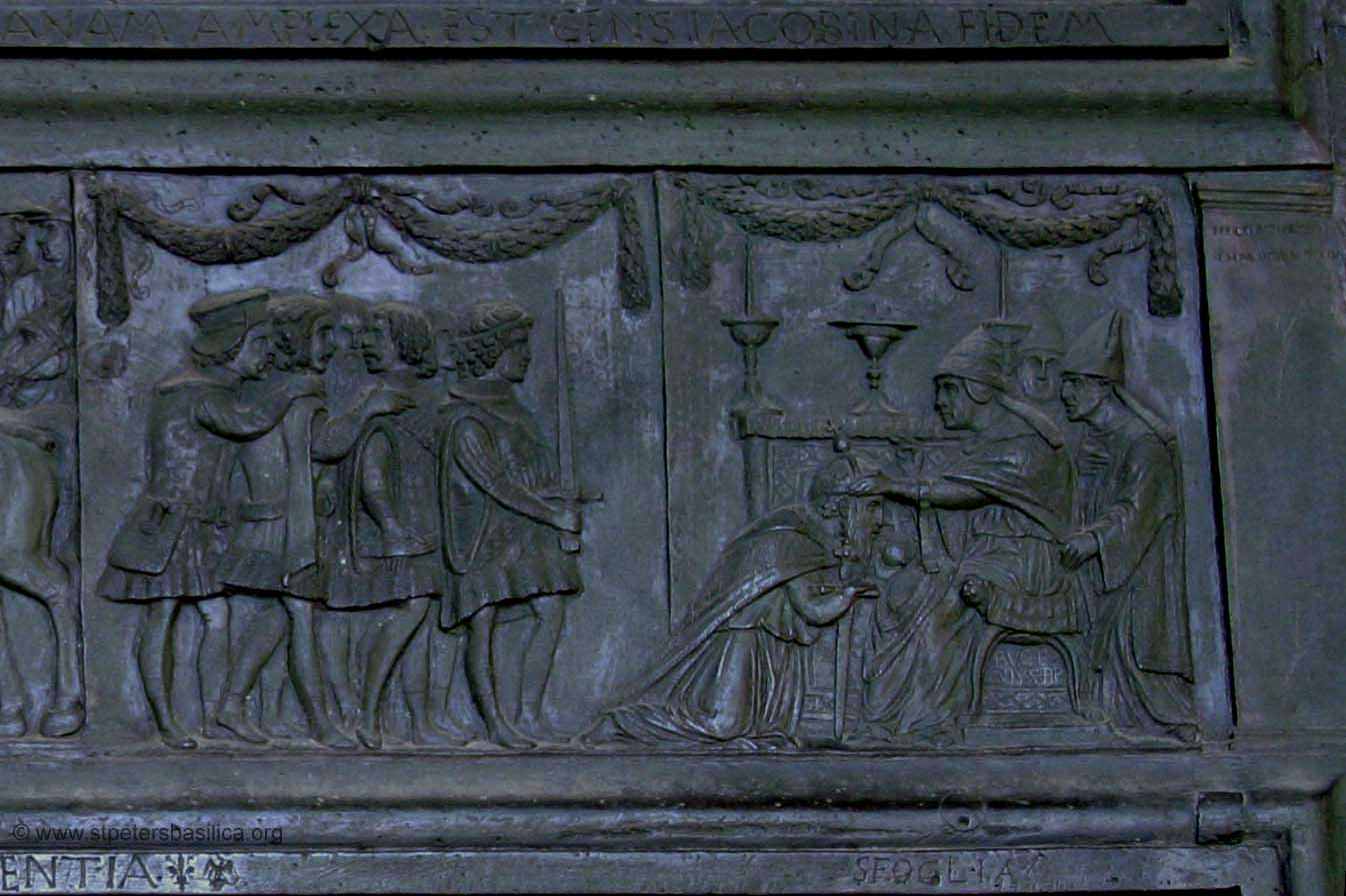 The coronation of the emperor Sigismund & St. Peteru0027s - The Filarete Door pezcame.com