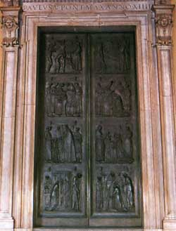 & St. Peter\u0027s - Door of the Sacraments