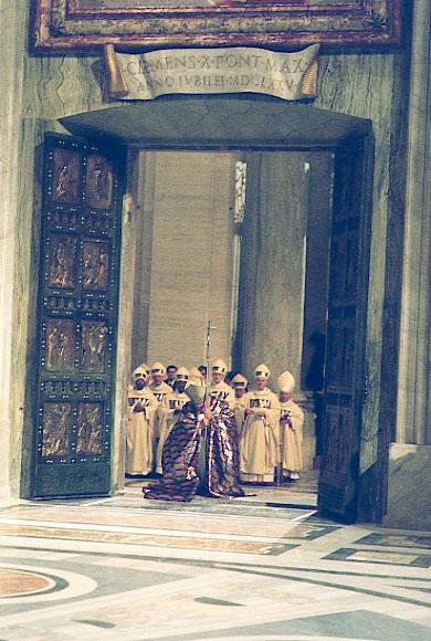 Ordinary Jubilees 1300 Boniface VIII 1350 Clement VI 1390 Urban VI 1400 Boniface IX 1423 Martin V 1450 Nicholas V 1475 Sixtus IV 1500 Alexander VI & St. Peter\u0027s - The Holy Door