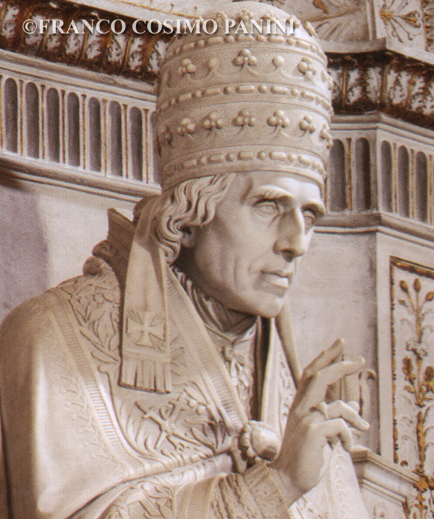 Which Statue Of A Pope In The Vatican Actually Has The