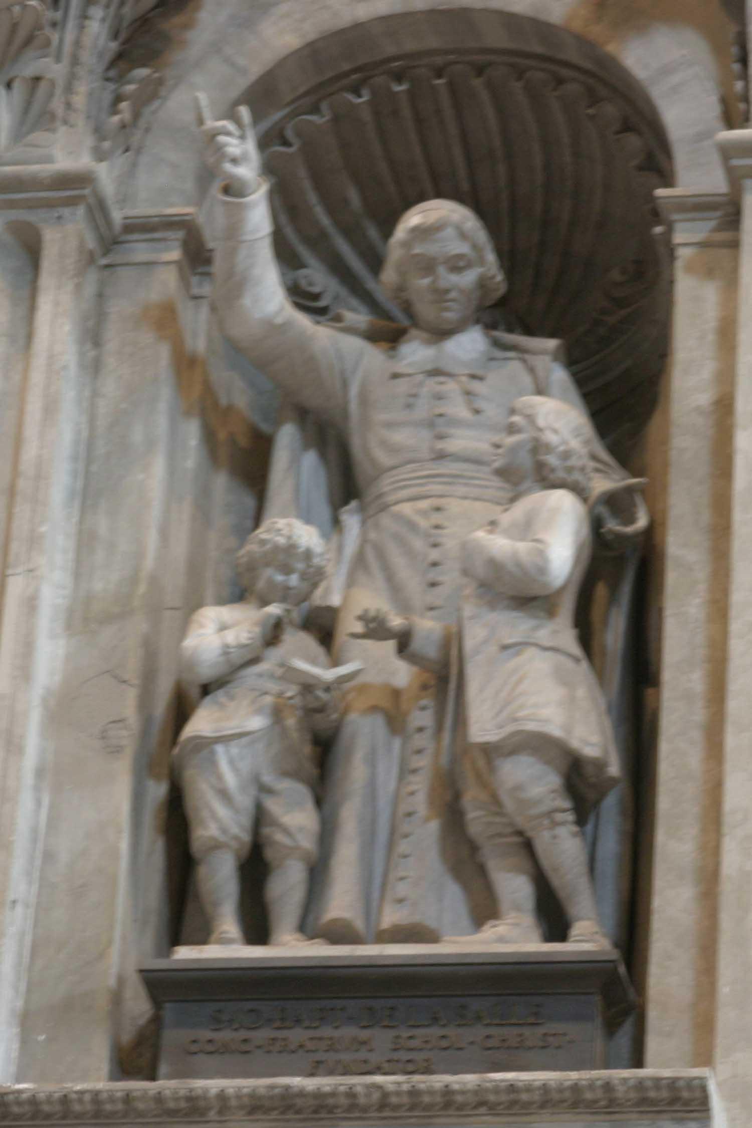St. John Baptist de la Salle - Founder Statue
