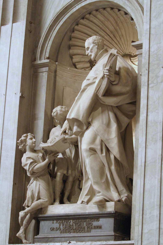 St Joseph Calasanctius Founder Statue